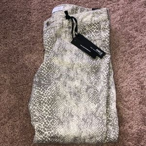 NWT Snake Print Jeans from Express